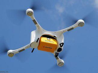 Công nghệ giao hàng bằng máy bay không người lái