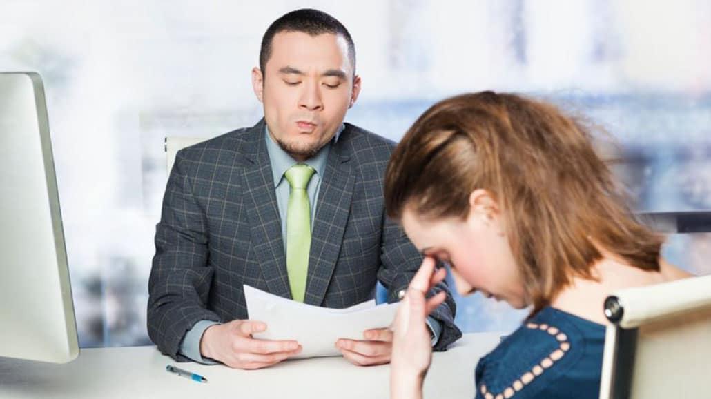 Lời khuyên giảm căng thẳng khi phỏng vấn