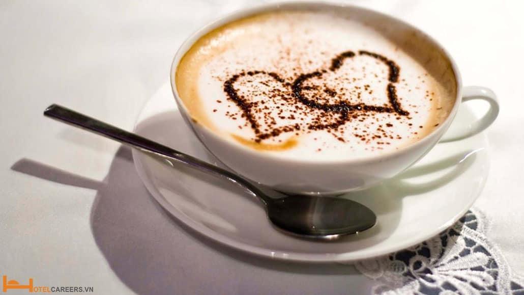 Một ly Cappuccino hấp dẫn