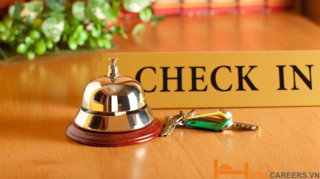 Quy trình check in khách sạn