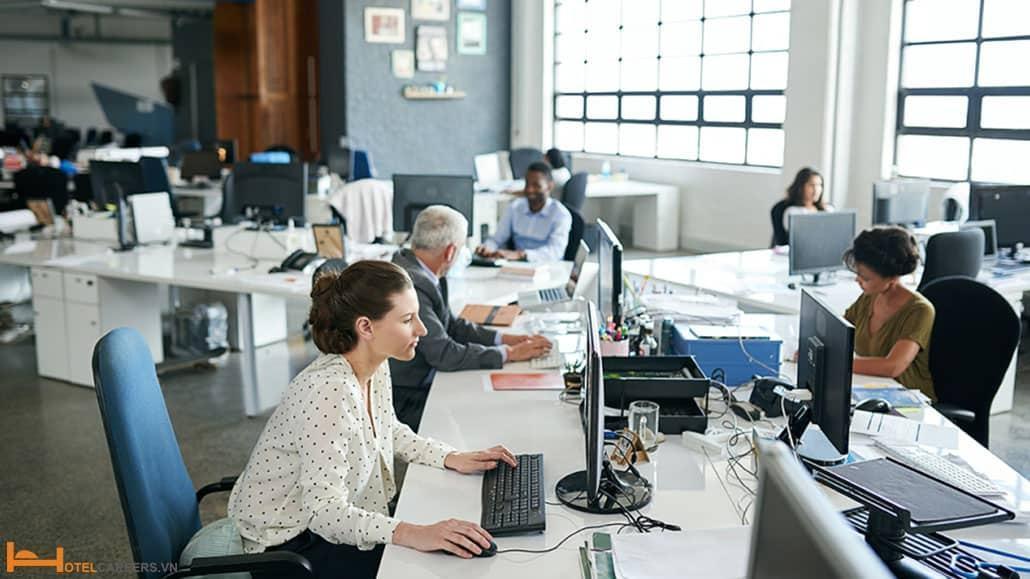 Một không gian yên tĩnh sẽ giúp Revenue Manager tạo sự khách biệt lớn