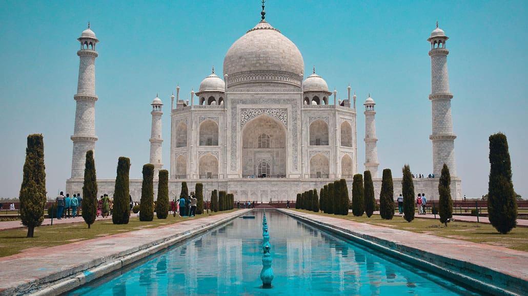 Đền Taj Mahal in Agra