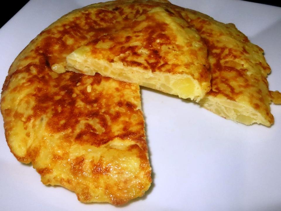 Tortilla (trứng ốp lết kiểu Tây Ban Nha)