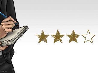Sự phát triển của các bài đánh giá về khách sạn