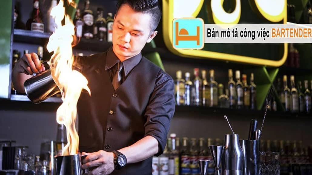 Bản mô tả công việc bartender