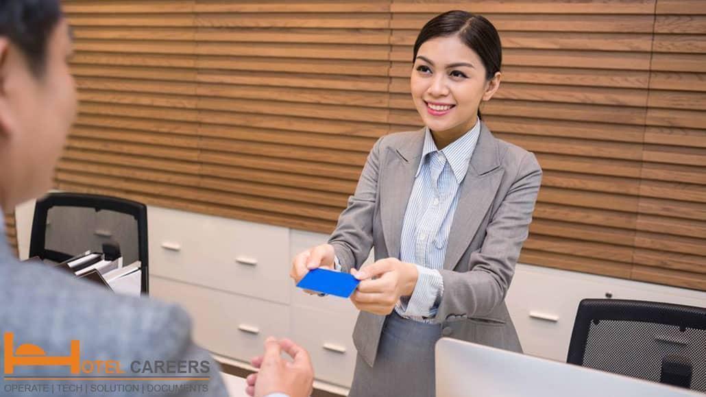 Bản mô tả công việc giám sát lễ tân khách sạn