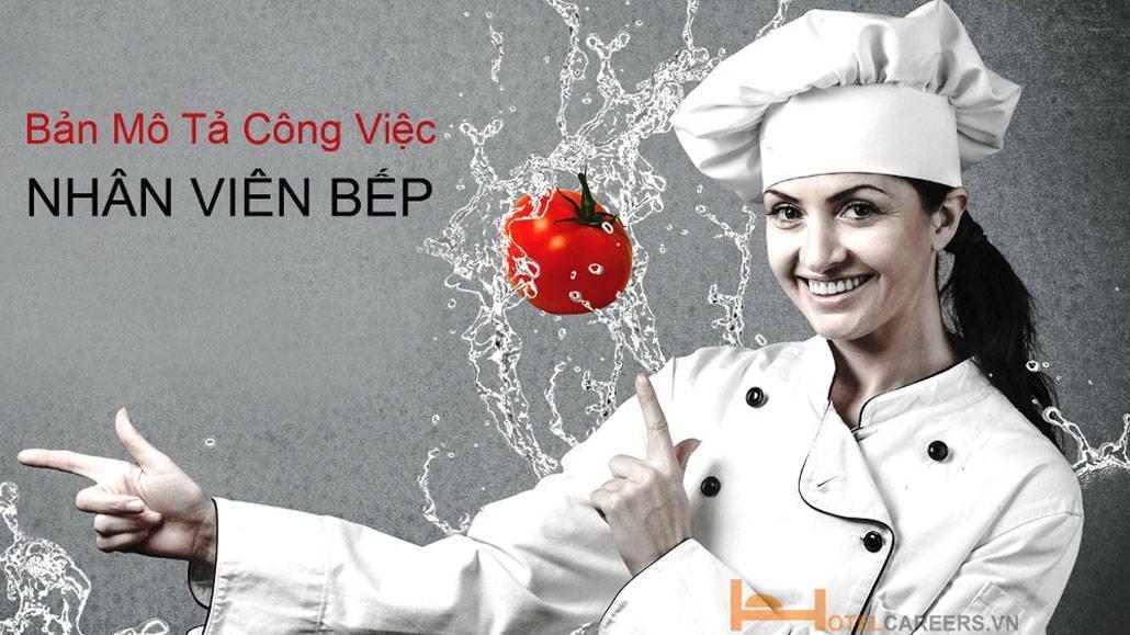 Bản mô tả công việc nhân viên bếp