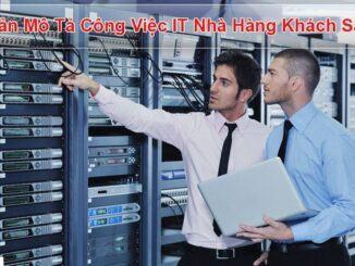 Bản mô tả công việc Nhân viên IT khách sạn