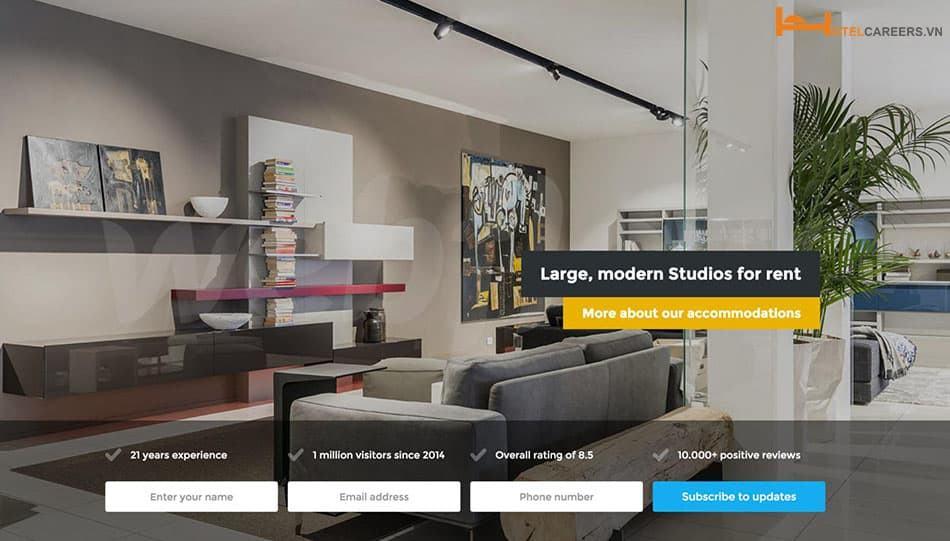 Bán phòng online qua website khách sạn