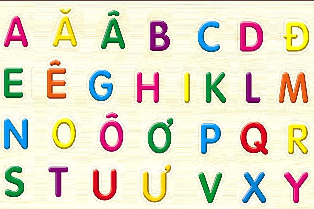 Dạy bảng chữ cái tiếng Việt