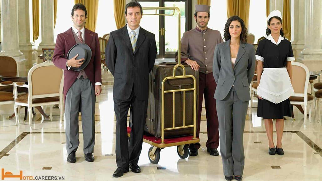 Các bộ phận trong khách sạn