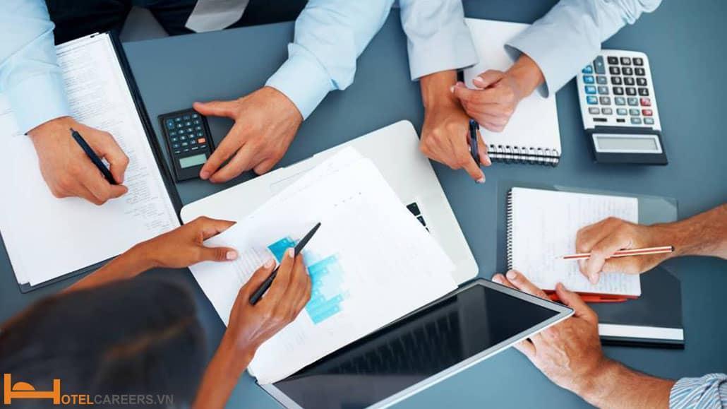 Bộ phận tài chính kế toán