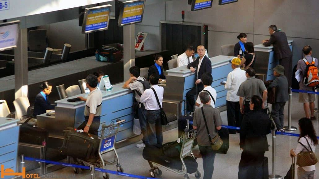 Các thủ tục cho chuyến bay