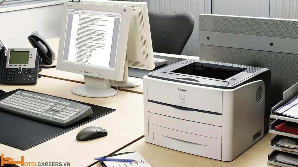 Các trang thiết bị cần thiết trong văn phòng