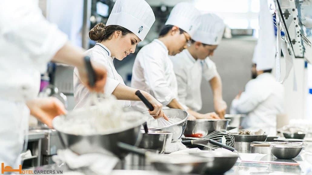 Danh sách các trường học đầu bếp