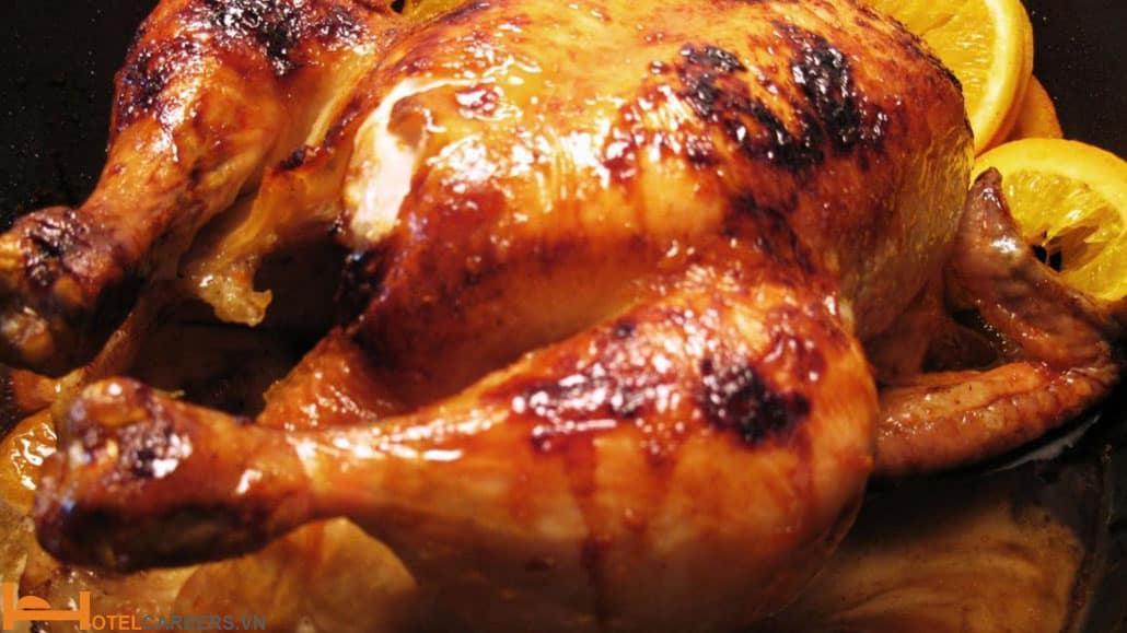 Cách làm món gà nướng đất sét