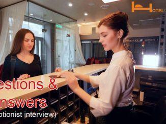 Các câu hỏi phỏng vấn tiếng Anh lễ tân