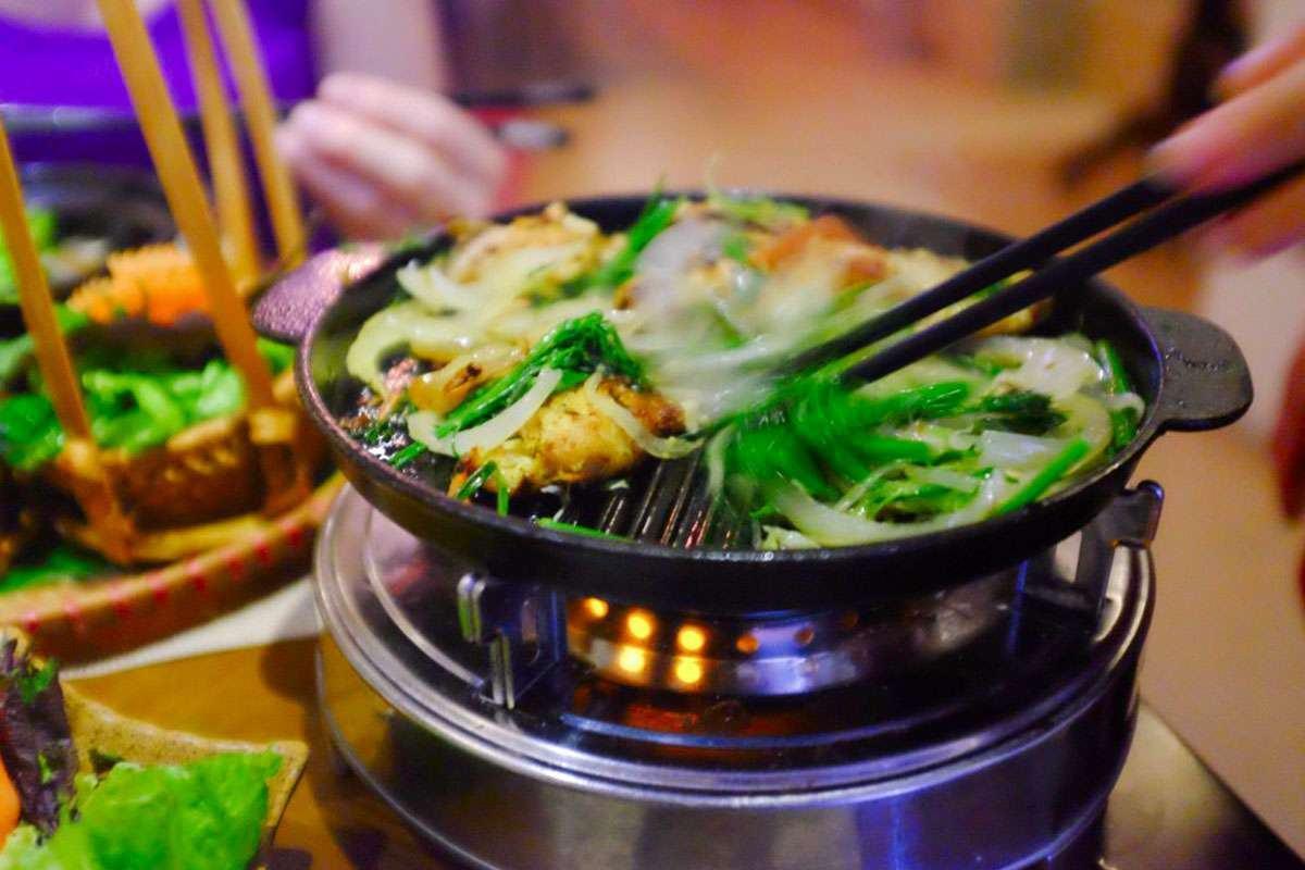 Chả cá Lã Vọng tại nhà hàng Dương