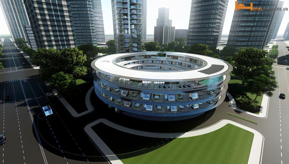 Mô hình chuỗi phòng khách sạn tự lái