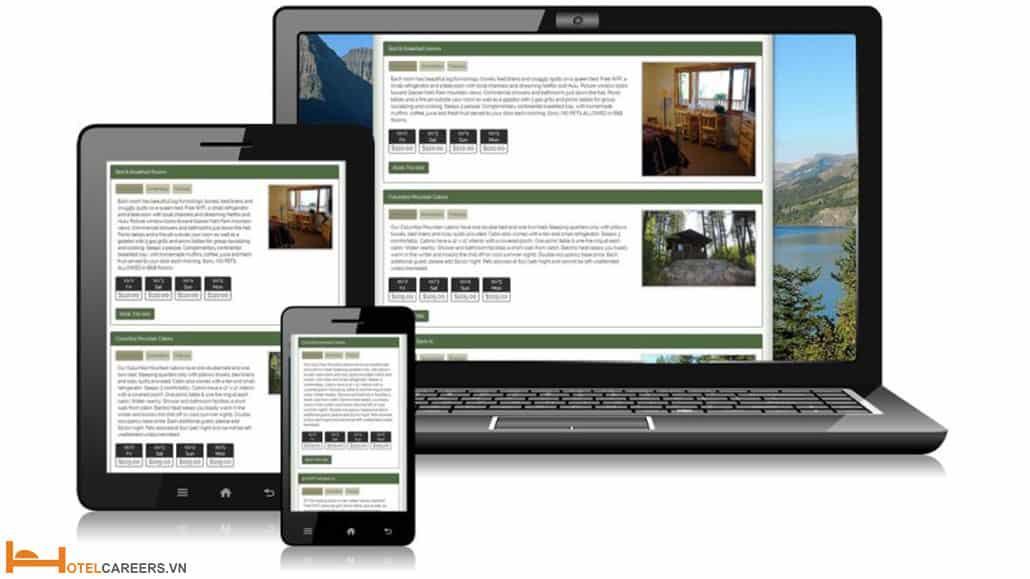 Web đặt phòng khách sạn