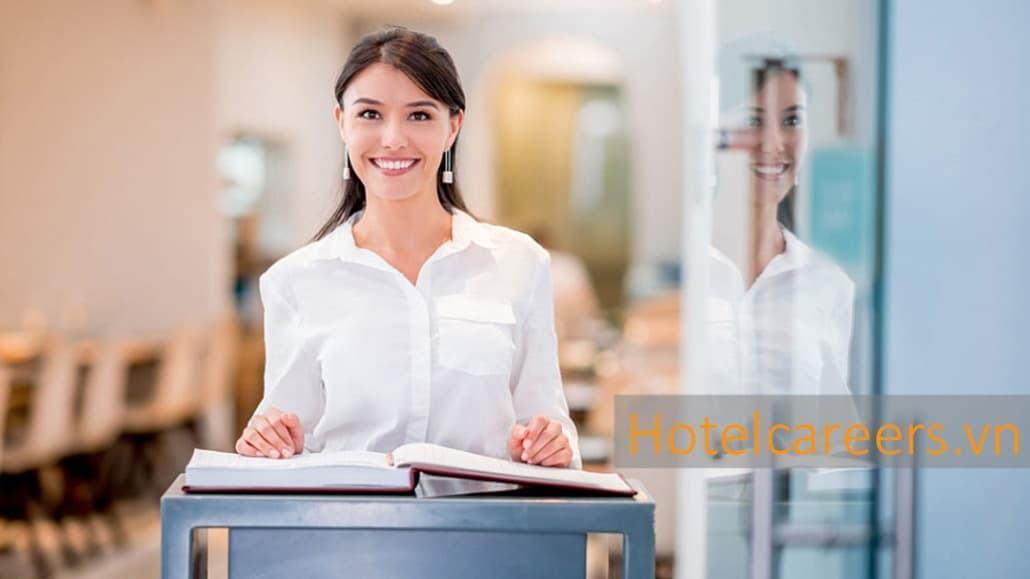 Cơ hội việc làm nghề lễ tân khách sạn