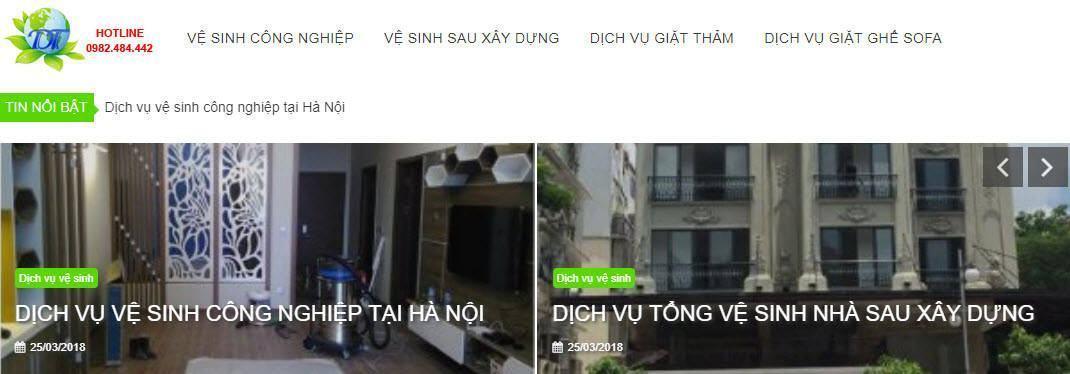 Công ty vệ sinh công nghiệp Duy Tuấn
