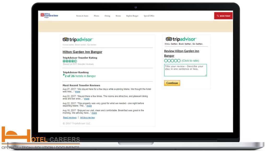 Quản lý bài đánh giá khách sạn trực tuyến