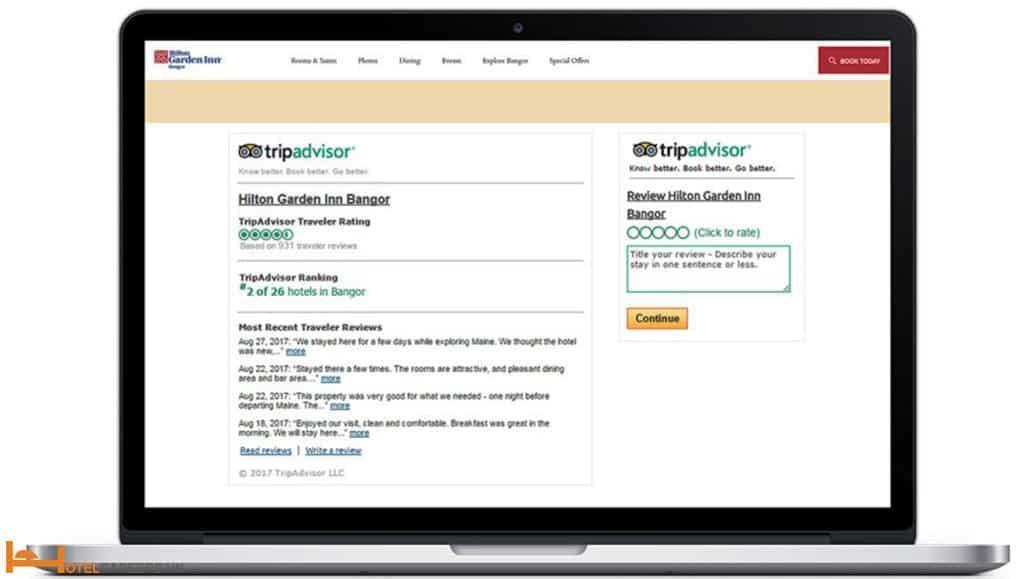 Đánh giá trên Tripadvisor