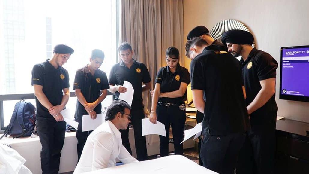 Đào tạo nghiệp vụ buồng phòng khách sạn