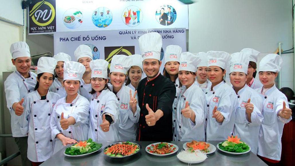 Địa điểm học nghề bếp tốt nhất