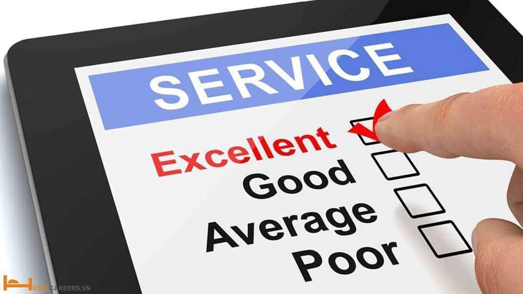 Dịch vụ khách hàng tốt