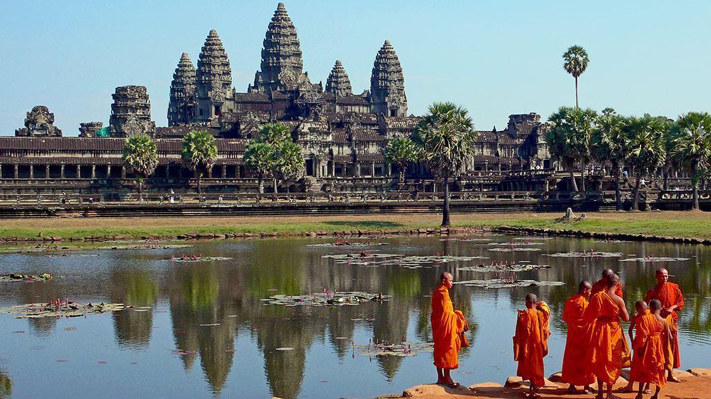 Điểm du lịch hấp dẫn nhất thế giới - Angkor Wat