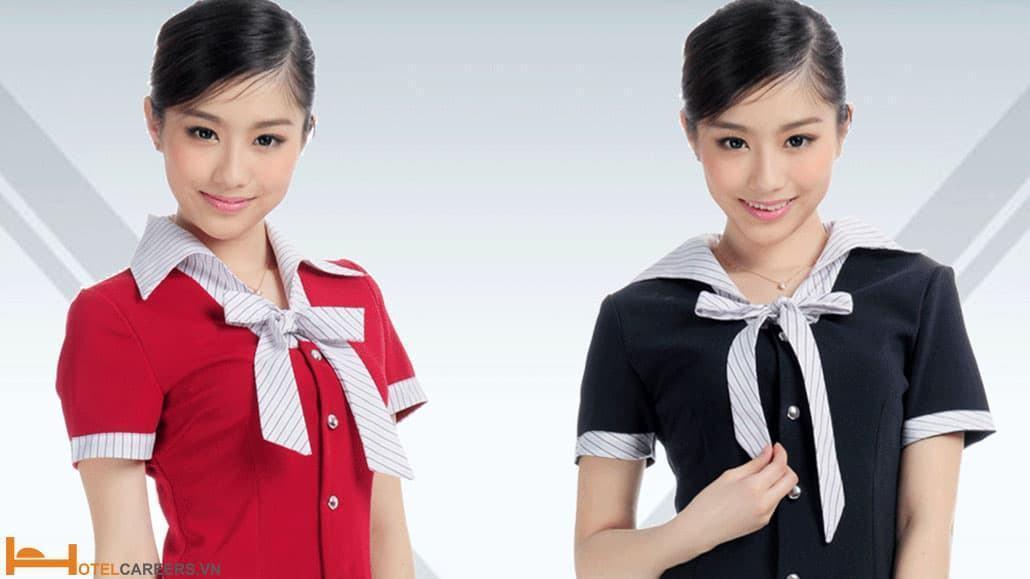 Đồng phục của nhân viên hostess