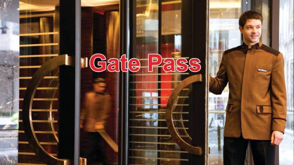 Gate pass là gì
