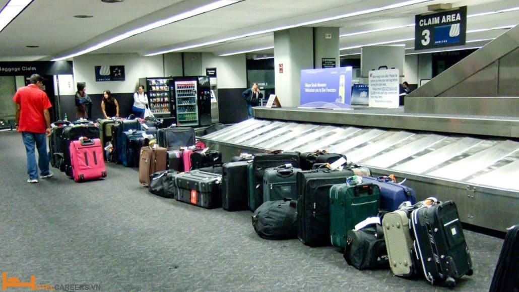 Hành lý của khách đi máy bay