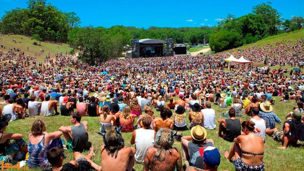 Hoạt động âm nhạc tại Byron Australia