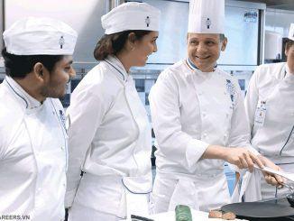 Học nghề bếp ở TP HCM