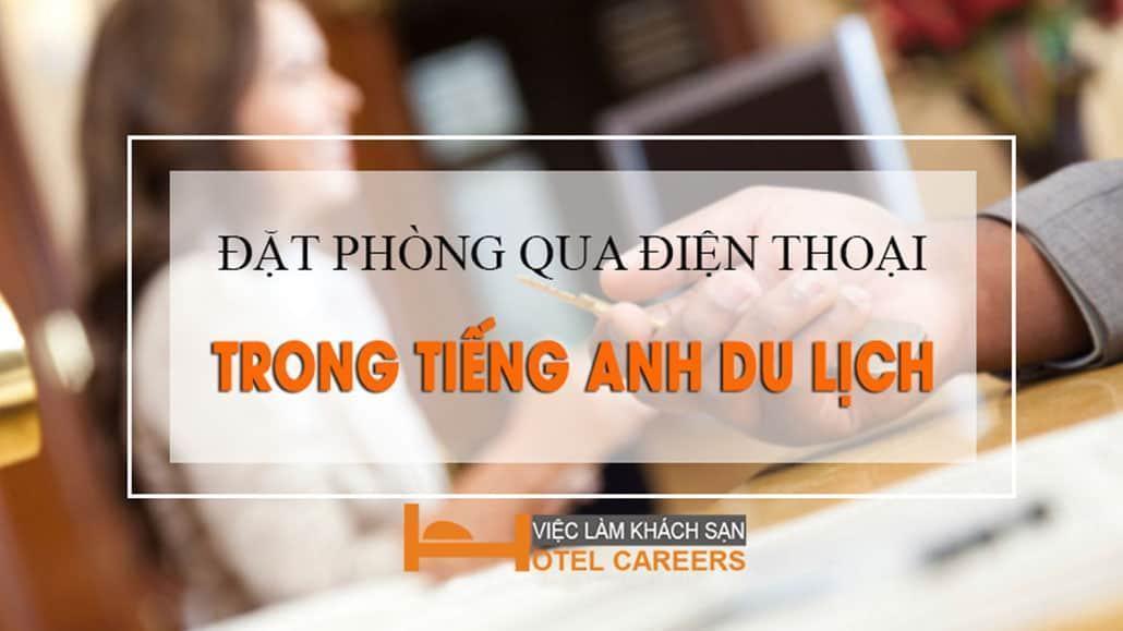 Hội thoại đặt phòng khách sạn bằng tiếng Anh