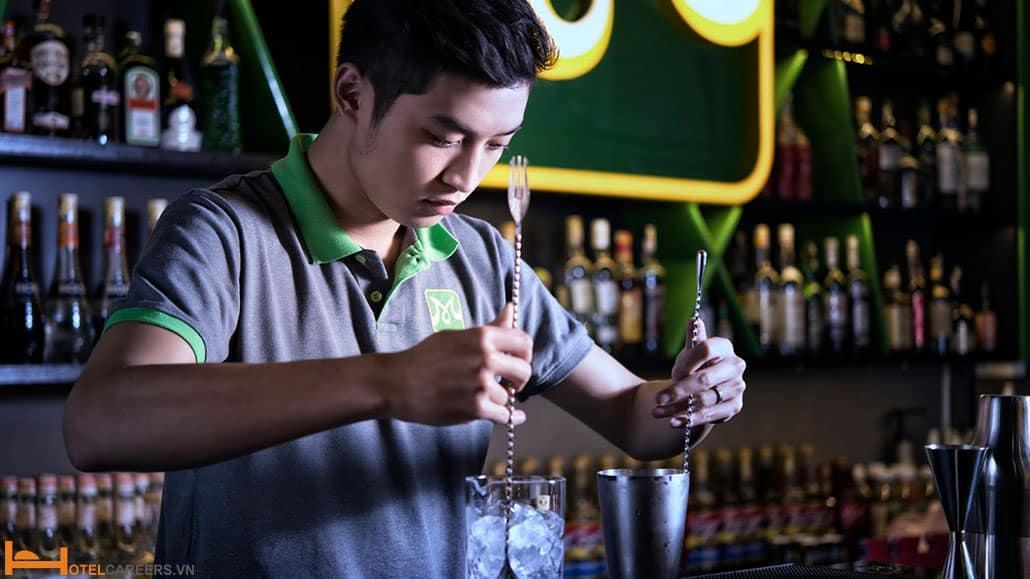 Khóa học Bartender tại Sài Gòn Tourist