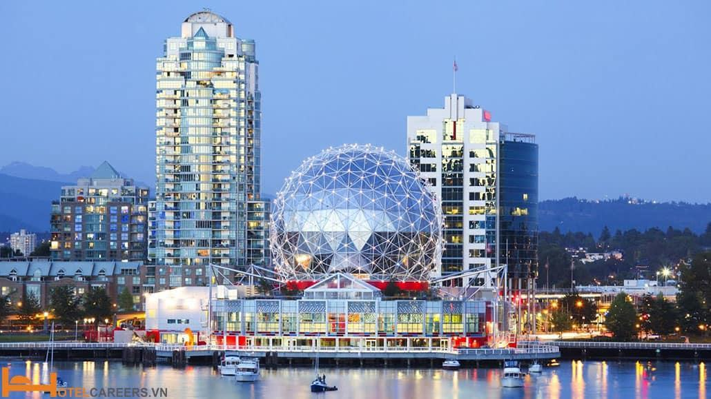 Thành phố Vancouver sôi động