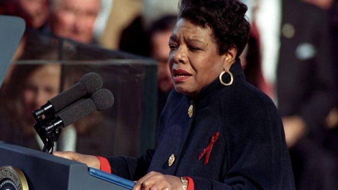 Maya Angelou (American poet)