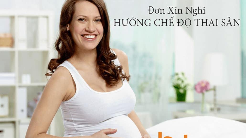 Mẫu đơn xin nghỉ thai sản