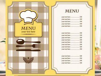 Menu nhà hàng là gì?