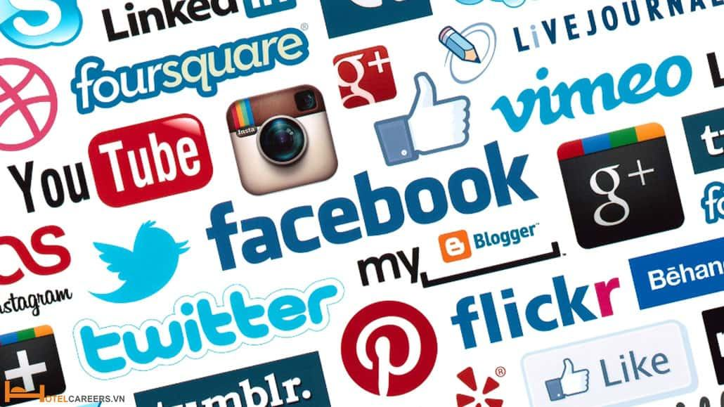 Tích hợp các nút mạng xã hội vào website khách sạn