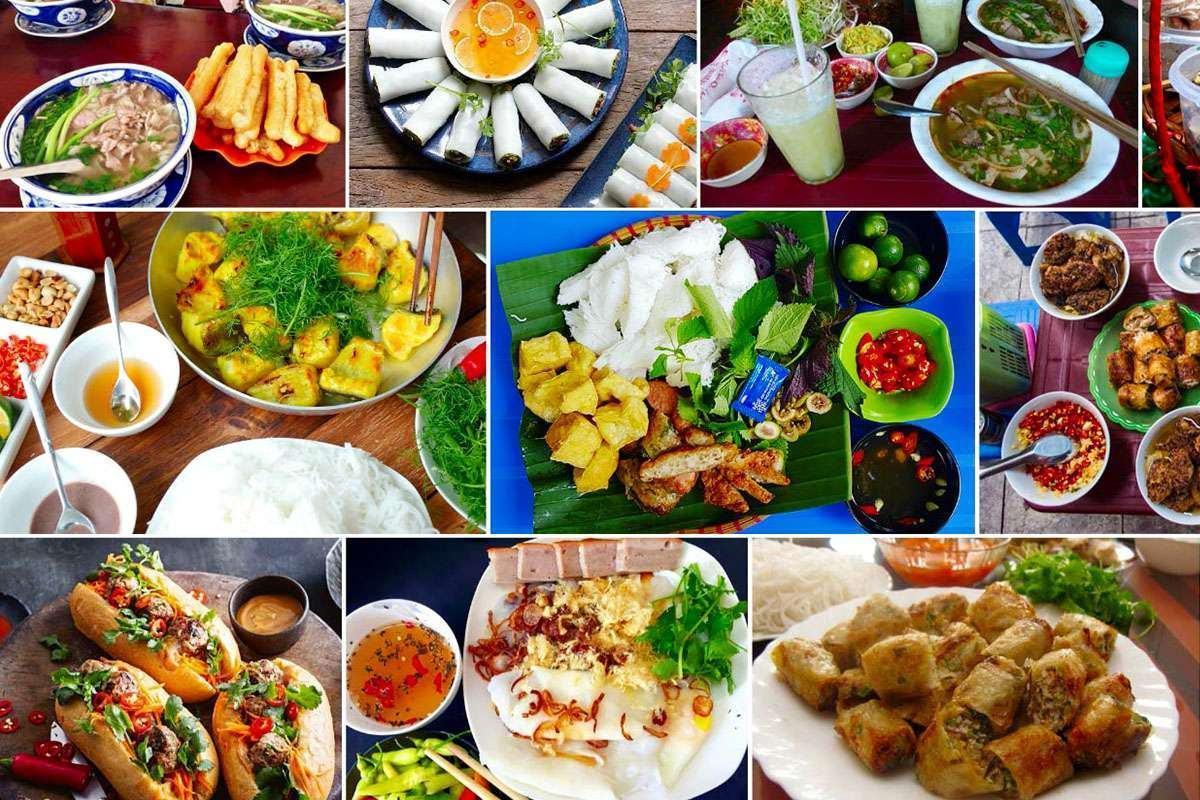 Những món ăn ngon ở Hà Nội