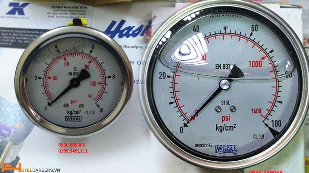 Mua đồng hồ đo áp suất Wika chính hãng