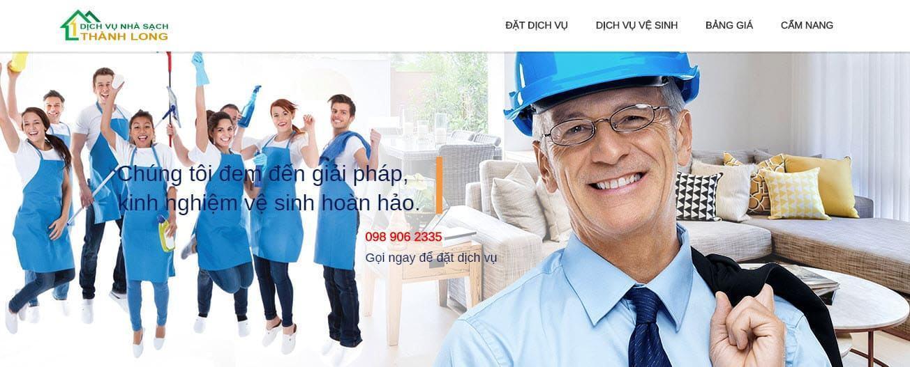 Công ty Dịch vụ Nhà sạch Thành Long