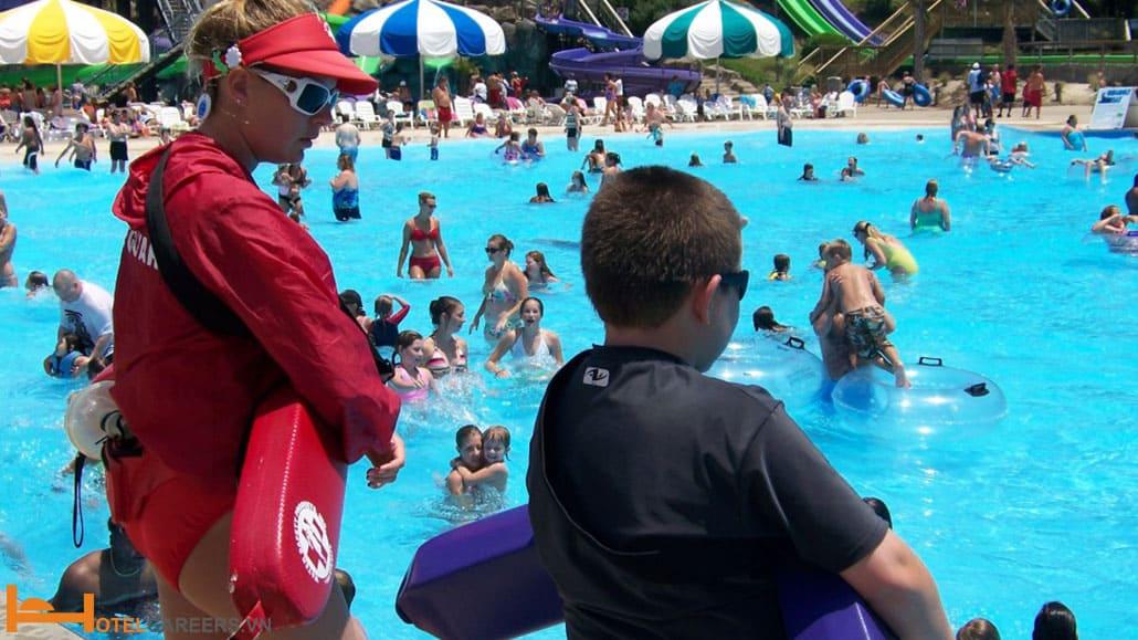 Đảm bảo an toàn cho khách bơi