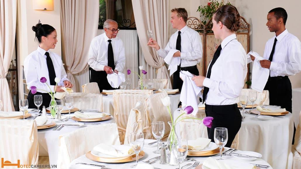 Tuân thủ các quy định dành cho nhân viên phục vụ