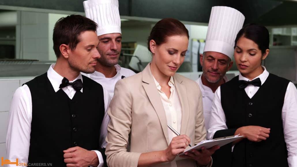 Nội dung khóa học quản lý nhà hàng khách sạn
